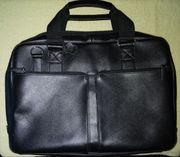 Businesstasche Leder schwarz -neuwertig