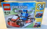LEGO CREATOR 3in1 Rotes Go-Kart