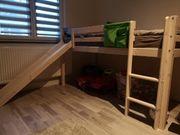 Hochbett ohne Rutsche