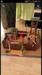 Playmobil Westen Fort mit Goldmine