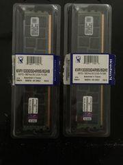 2 x 8 GB Kingston