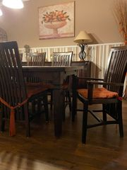 Stühle Landhaus Esszimmer kolonial braun