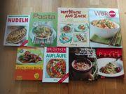 Kochbücher zu verkaufen