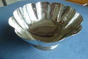 Neue Silberschale Schroth handmade