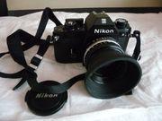 Nikon EM analog 50 mm