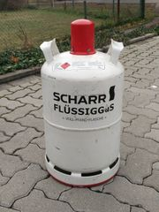 11 kg Propangas - Gasflasche SCHARR Pfandflasche