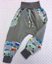 Gr.98//104 oder Gr.104//110 Pumphose Babyhose  Handarbeit NEU Jersey