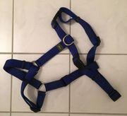 Nylon-Hundegeschirr blau von Hunter Größe