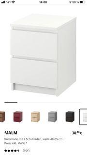 Neue IKEA Malm Kommode