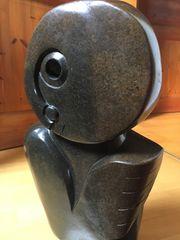 Afrika Skulptur Spirit - Steinskulptur Serpentin