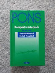 PONS Kompaktwörterbuch Französisch - Deutsch Klett-Verlag
