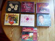 Schöne Musik CD Boxen und
