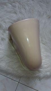 Waschbecken keramik abdeckung bahamabeige Neu