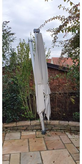 Sonstiges für den Garten, Balkon, Terrasse - Sonnenschirm Ampelschirm Glatz 360 Grad