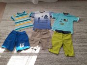 Sommerkleidung für Jungs in Gr