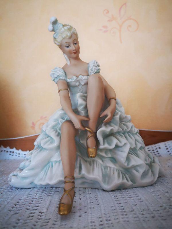 Figur Skulptur Tänzerin Heinz Schaubach