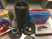 Soundsystem für Auto- Verstärker Boxen Bassröhre