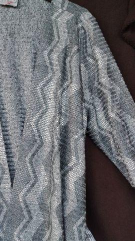 Damenbekleidung - Gr 46 Cardigan mit Zickzack-Muster