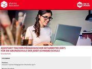 Assistant Teacher Pädagogischer Mitarbeiter m