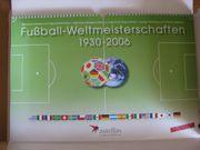 Briefmarken Fußballweltmeisterschaft 1930 - 2006