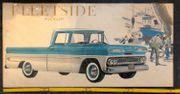Altes Reklame Plakat Chevrolet Apache