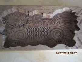 Sonstige Antiquitäten - Ein altes Holz Buttermodel