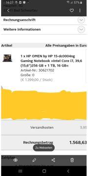 Gaming Maschine HP OMEN infos