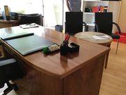 Nussbaum 50er Jahre Büromöbel