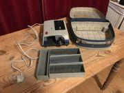 Dia-Projektor Voigtländer Perkeo im Koffer