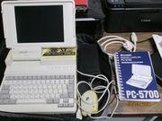 SHARP PC 5700 Computer historisch