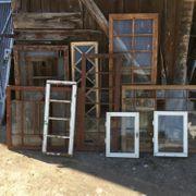Alte Holzfenster Jugendstil Gründerzeit mit