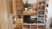 Wohnwand für TV Bücher etc