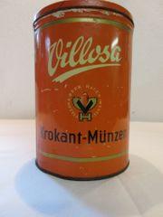 Villosa-Alte Blechdose Keksdose Sammlerdose