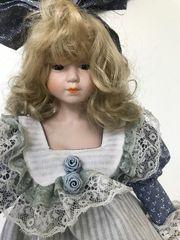 Sammler Puppe 41 cm Porzellan