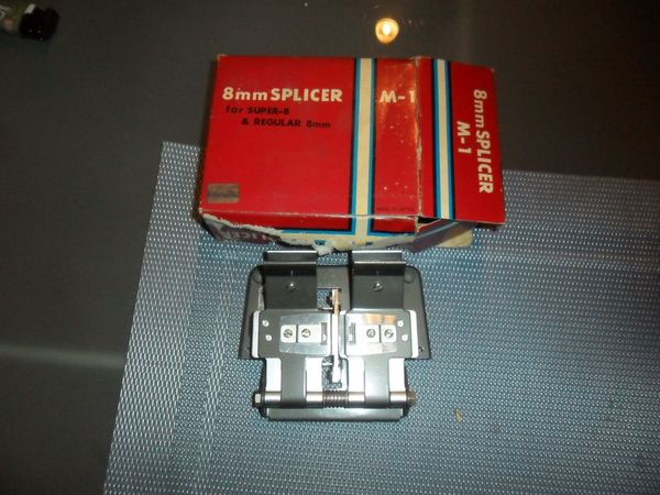 Alcron Klebepresse Film Splicer Schneidegerät