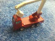 Spielzeug - Auto - Siku - Kranwagen - rot -