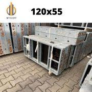 1 X Wandschalung Tafel 120x55cm