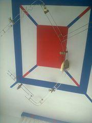 Decken oder Wandlampe - Schienensystem