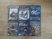 Playstation 2 Spiele - 6 Stück