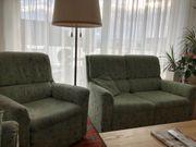 Couchgarnitur Sofa 125 cm und