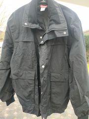 Herren Jacke schwarz Kansas Größe