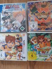 4x 3DS Spiele