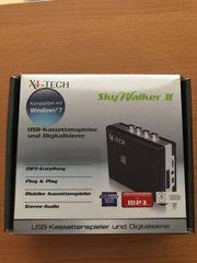 USB-Kassettenspieler und Digitalisierer