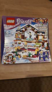 Lego Friends EISLAUFPLATZ im Wintersportort
