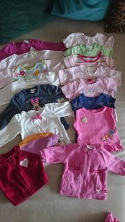 Babykleidung 50-68 43 Teile Paket