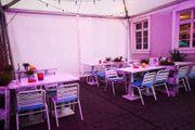 Viereckpagode Outdoor Zelt - Partyzelt - Pagode