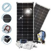 200W Solaranlage für Wohnwagen und