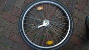 24 Zoll Hinterradfelge mit 3