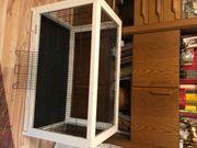 Holzvogelkäfig B 1m x T