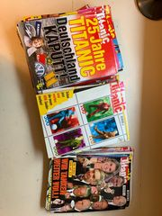 Titanic Zeitschriften 1999-2001 diverse